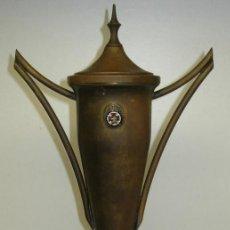 Coleccionismo deportivo: ANTIGUO TROFEO RAC REAL AUTOMOVIL CLUB DE VALENCIA, IV SEMANA DEPORTIVA ALGEMESÍ 1966. Lote 75902375