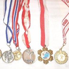 Coleccionismo deportivo: LOTE 8 MEDALLAS DE DIFERENTES TIPOS .UCRANIA. Lote 77349713