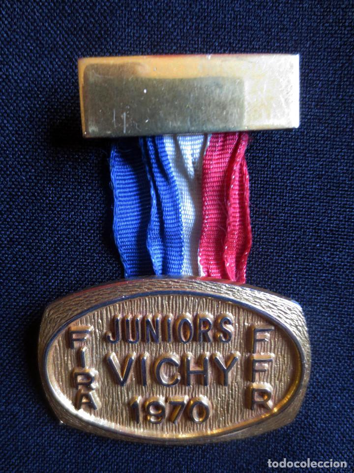 MEDALLA RUGBY FIRA CAMPEONATO MUNDIAL- VICHY- 1970 (Coleccionismo Deportivo - Medallas, Monedas y Trofeos - Otros deportes)