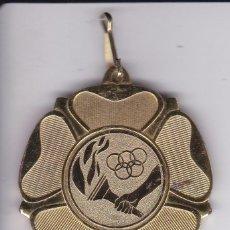 Coleccionismo deportivo: MEDALLA TEMA OLIMPICO DEL AJUNTAMET DE BARCELONA CEIP PROSPERITAT 2007-08. Lote 80265077