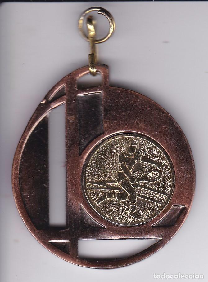 MEDALLA DE LA ESCUELA DE TENIS DE BADALONA TEMPORADA 2006-2007 (Coleccionismo Deportivo - Medallas, Monedas y Trofeos - Otros deportes)