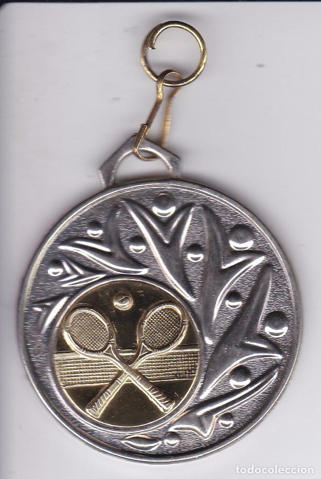 MEDALLA DE LA ESCUELA DE TENIS DE BADALONA TEMPORADA 2007-2008 (2º CLASS) (Coleccionismo Deportivo - Medallas, Monedas y Trofeos - Otros deportes)