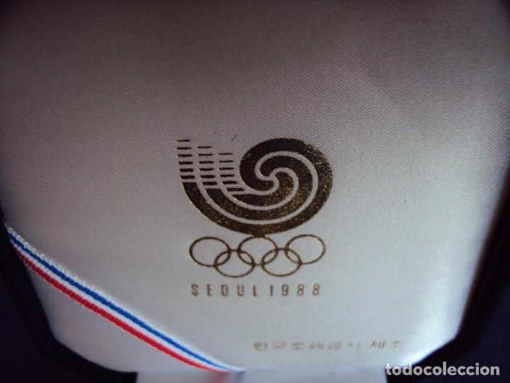 Coleccionismo deportivo: (F-170458)MEDALLA DE LOS JUEGOS OLIMPICOS SEUL 1988 - Foto 2 - 83365188