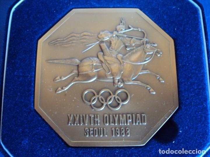 Coleccionismo deportivo: (F-170458)MEDALLA DE LOS JUEGOS OLIMPICOS SEUL 1988 - Foto 3 - 83365188