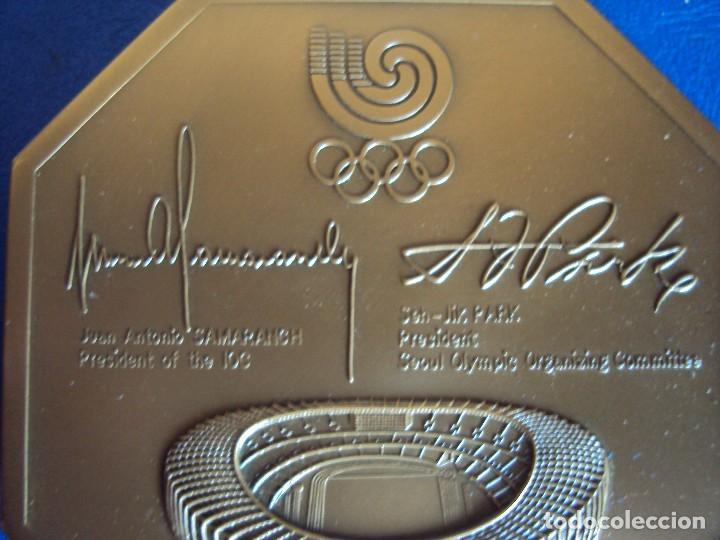 Coleccionismo deportivo: (F-170458)MEDALLA DE LOS JUEGOS OLIMPICOS SEUL 1988 - Foto 6 - 83365188