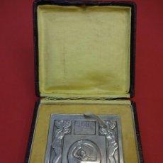 Coleccionismo deportivo: F.F.N.S. WATERPOLO. MEDALLA CONMEMORATIVA PARTIDO FRANCIA-ESPAÑA. TOULOUSE. AÑO 1926. ART-DECO. Lote 86076936
