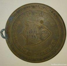 Coleccionismo deportivo: MEDALLON DE BRONCE CLUB BANESTO 1965 IV JUEGOS DEPORTIVOS,. Lote 86507924