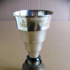 Coleccionismo deportivo: TROFEO COPA NAVAL III CRUCERO ISLA DEL SEC 1943. Lote 87669204