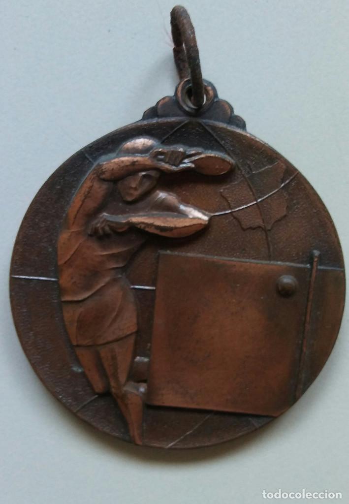 XXIX CTO. ESPAÑA ABSOLUTO IND. MASCULINO ZARAGOZA 1974 (Coleccionismo Deportivo - Medallas, Monedas y Trofeos - Otros deportes)