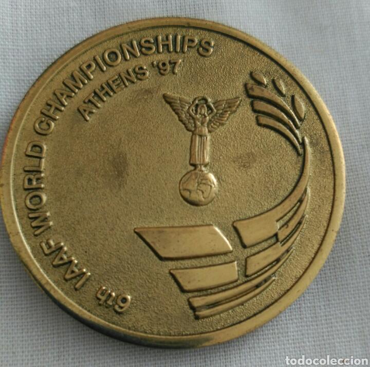 Coleccionismo deportivo: MEDALLA 6th IAAF WORLD CHAMPIONSHIPS ATHENS 1997. CAMPEONATO MUNDIAL DE ATLETISMO ATENAS. GRECIA - Foto 2 - 89844247