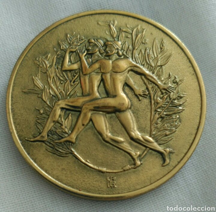 Coleccionismo deportivo: MEDALLA 6th IAAF WORLD CHAMPIONSHIPS ATHENS 1997. CAMPEONATO MUNDIAL DE ATLETISMO ATENAS. GRECIA - Foto 3 - 89844247