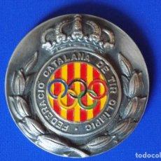 Coleccionismo deportivo: MEDALLA FEDERACIO CATALANA DE TIR OLIMPIC... R-6361. Lote 89894832