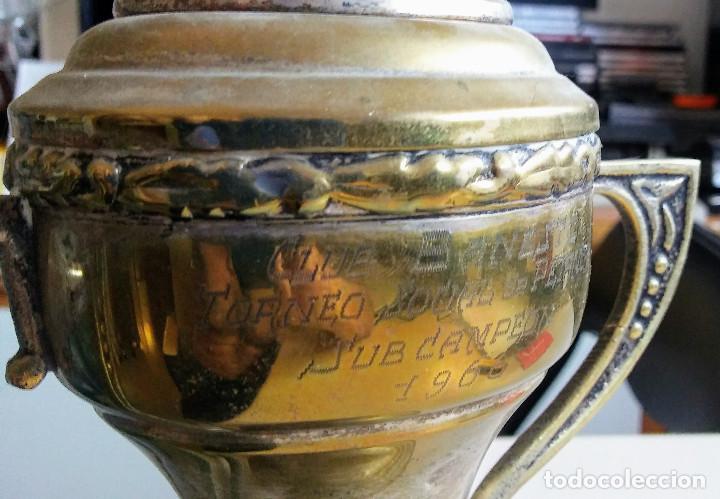 TROFEO DE PETANCA AÑO 1966 CTO. SOCIAL CLUB BANESTO PINAR DEL REY (Coleccionismo Deportivo - Medallas, Monedas y Trofeos - Otros deportes)