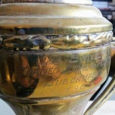 Coleccionismo deportivo: TROFEO DE PETANCA AÑO 1966 CTO. SOCIAL CLUB BANESTO PINAR DEL REY. Lote 90024588