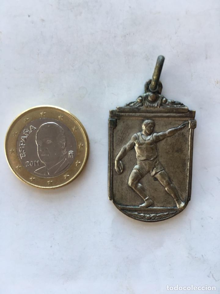 MEDALLA. CAMPEONATO NACIONAL DEL FRENTE DE JUVENTUDES (H.1940?) (Coleccionismo Deportivo - Medallas, Monedas y Trofeos - Otros deportes)