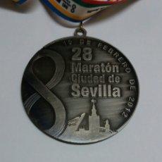 Coleccionismo deportivo: MEDALLA MARATON SEVILLA 2012. Lote 91693598