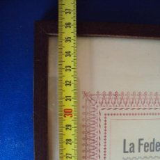 Coleccionismo deportivo: (F-170712)TITULO AL MERITO DEPORTIVO CATEGORIA ORO DE SANTIAGO GARCIA I ARNALOT,HOCKEY PATINES. Lote 171228739