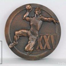Collectionnisme sportif: MEDALLA CONMEMORATIVA - XXV ANIVERSARIO FEDERACIÓN ESPAÑOLA BALONMANO / FEBM, 1942-1967. Lote 94386582