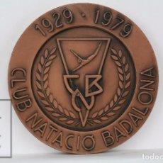 Collectionnisme sportif: MEDALLA CONMEMORATIVA - CLUB NATACIÓ BADALONA / CNB, 1929-1979 - DIÁMETRO 7 CM. Lote 94389102