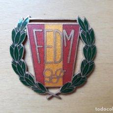 Coleccionismo deportivo: MEDALLA - FEDM - FEDERACIÓN ESPAÑOLA DE DEPORTES DE MINUSVÁLIDOS. Lote 97146263