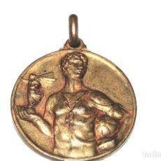 Coleccionismo deportivo: PRECIOSA MEDALLA DORADA BORN ALT - 31 DE MAYO DE 1936. Lote 97766131