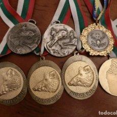 Coleccionismo deportivo: SIETE MEDALLAS TROFEO CAZA MAYOR,INTERNACIONALES. Lote 98703199