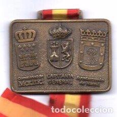 Coleccionismo deportivo: 2ª CARRERA POPULAR FUERZAS ARMADAS, MADRID 1989, 5 CM. X 7 CM., BRONCE. Lote 98709623