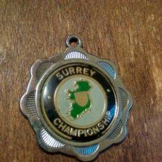 Coleccionismo deportivo: ANTIGUA MEDALLA SURREY CHAMPIONSHIPS. Lote 98867600