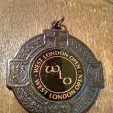 Coleccionismo deportivo: ANTIGUA MEDALLA WLO WEST LONDON OPEN. Lote 98867690