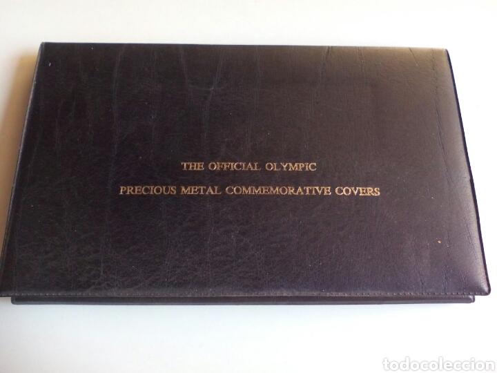 ESTUCHE CON 2 MONEDAS DE PLATA CONMEMORATIVA DE LAS OLIMPIADAS XXI DE MONTREAL 1976. (Coleccionismo Deportivo - Medallas, Monedas y Trofeos - Otros deportes)