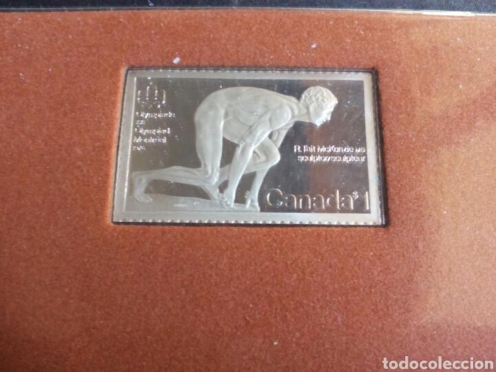 Coleccionismo deportivo: ESTUCHE CON 2 MONEDAS DE PLATA CONMEMORATIVA DE LAS OLIMPIADAS XXI DE MONTREAL 1976. - Foto 4 - 99291559