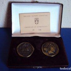 Coleccionismo deportivo: (F-171156)MEDALLAS HELLENIC OLIMPIC COMMITTEE ESPECIAL XXV OLIMPIADAS DE BARCELONA. Lote 103319387