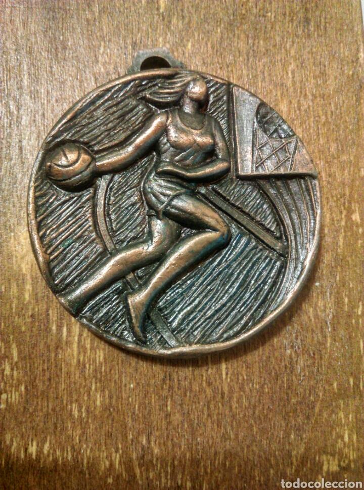 BALONCESTO FTB 1973 INFANTIL BASQUET. F.T.B. TARRAGONA. DEPORTES (Coleccionismo Deportivo - Medallas, Monedas y Trofeos - Otros deportes)