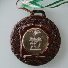 Coleccionismo deportivo: MEDALLA MEDALLON DE METAL I ENCUENTRO ANDALUZ DE ESCUELAS DEPORTIVAS DE UNICAJA 28 ABRIL 2001 MALAGA. Lote 104878031