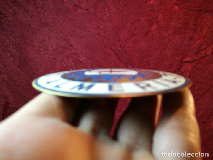 Coleccionismo deportivo: placa bronce grabado y esmaltado club pesca el palmeral--almeria--años 70 - Foto 7 - 105656579