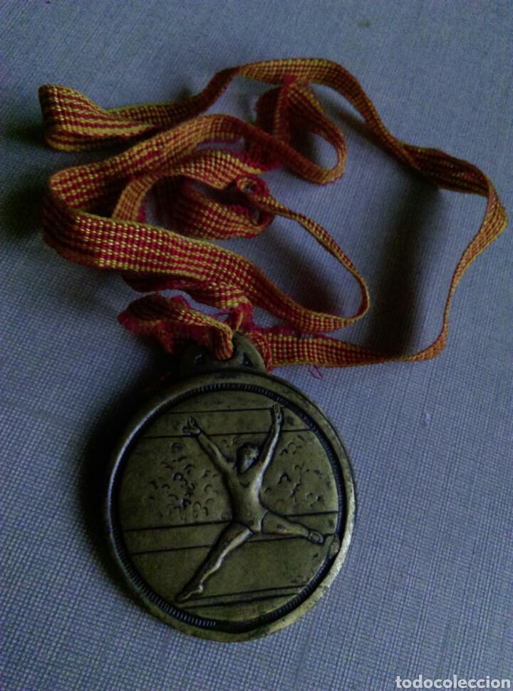 ANTIGUA MEDALLA DANZA AE GRACIA (Coleccionismo Deportivo - Medallas, Monedas y Trofeos - Otros deportes)