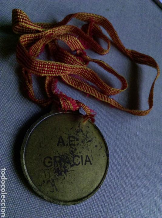 Coleccionismo deportivo: Antigua medalla danza AE GRACIA - Foto 2 - 106575602