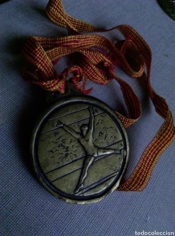 Coleccionismo deportivo: Antigua medalla danza AE GRACIA - Foto 3 - 106575602