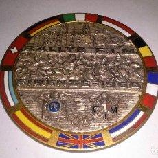 Coleccionismo deportivo: MEDALLA JUEGOS OLÍMPICO, RALLYE F.I.M. 1960 MOTO CICLISMO. Lote 106941435