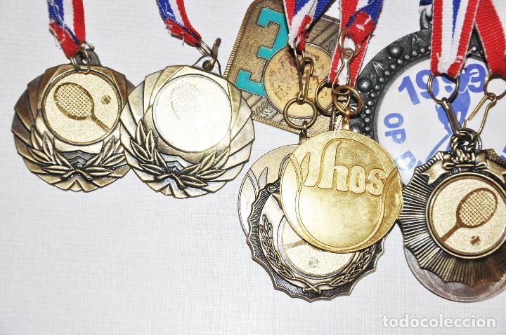 Coleccionismo deportivo: Lote de 18 Medallas del tenis .Ucrania - Foto 2 - 107509747