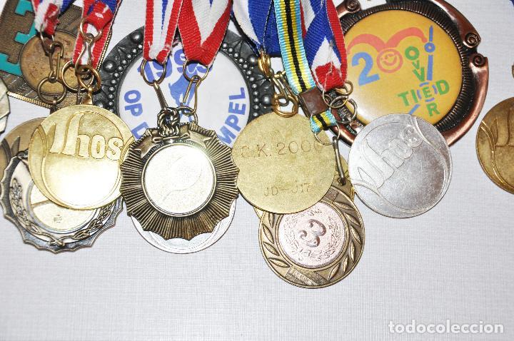 Coleccionismo deportivo: Lote de 18 Medallas del tenis .Ucrania - Foto 3 - 107509747