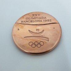Coleccionismo deportivo: MEDALLA VOLUNTARIO OLIMPIADA BARCELONA 1992. Lote 110043714