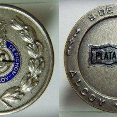 Coleccionismo deportivo: MEDALLA TIRO DE PICHON DE ALCOY PLATA 21,70GR.. Lote 110348687