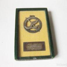 Collectionnisme sportif: MEDALLA ESMALTADA DEL COMITE DE HONOR DE LOS JUEGOS NACIONALES ESCOLARES - MADRID 1955. Lote 111628243