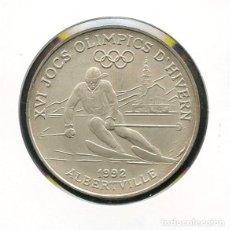 Coleccionismo deportivo: ANDORRA, MEDALLA, 1992 WINTER & SUMMER OLYMPICS, MEDAL ANDORRA. Lote 115458887