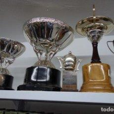 Coleccionismo deportivo: LOTE DE 5 TROFEOS ANTIGUOS . Lote 116457543
