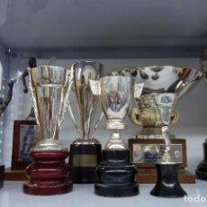 Coleccionismo deportivo: LOTE DE 8 TROFEOS ANTIGUOS . Lote 116457883