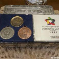Coleccionismo deportivo: ALMERÍA JUEGOS MEDITERRÁNEOS 2005 MEDALLAS. Lote 116821334