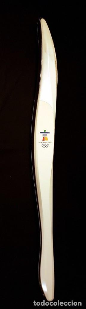 ORIGINAL ANTORCHA JUEGOS OLIMPICOS INVIERNO VANCOUVER 2010 (Coleccionismo Deportivo - Medallas, Monedas y Trofeos - Otros deportes)