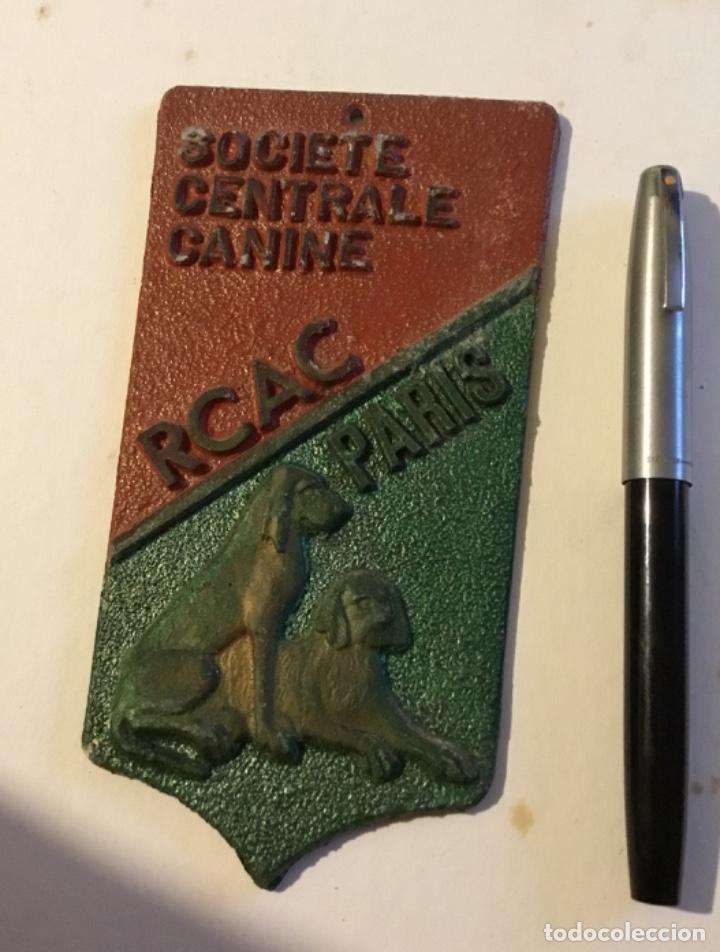 PREMIO CANINO SOCIETE PARIS CLOUVERTE (Coleccionismo Deportivo - Medallas, Monedas y Trofeos - Otros deportes)